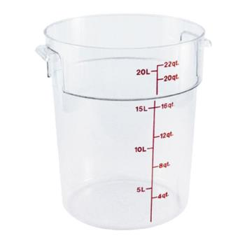 78596 - Cambro - RFSCW22135 - 22 qt Camwear® Food Storage Container Product Image