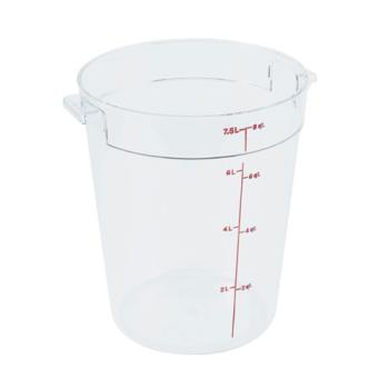 78593 - Cambro - RFSCW8135 - 8 qt Camwear® Food Storage Container Product Image