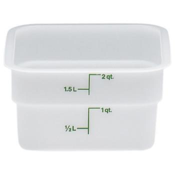 75109 - Cambro - 2SFSP148 - 2 qt CamSquare® Food Storage Container Product Image