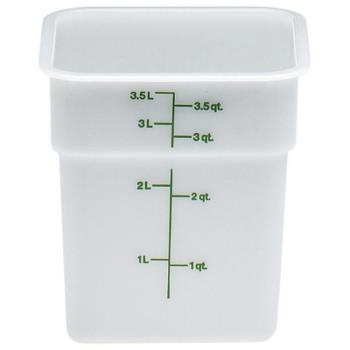 78520 - Cambro - 4SFSP148 - 4 qt CamSquare® Food Storage Container Product Image