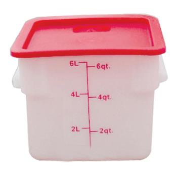 THGPLSFT006PP - Thunder Group - PLSFT006PP - 6 qt Food Storage Container Product Image