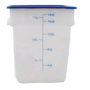 THGPLSFT018PP - Thunder Group - PLSFT018PP - 18 qt Food Storage Container  Product Image