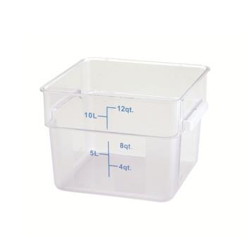 WINPCSC12C - Winco - PCSC-12C - 12 qt Food Storage Container Product Image