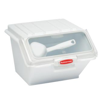 78502 - Rubbermaid - 9G6000 WHT - ProSave 40 Cup Ingredient Bin Product Image