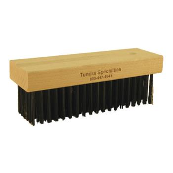 83303 - Malish - SSGBB-022 - 7 3/4 in Round Wire Bristle Grill Brush Replacement Head Product Image