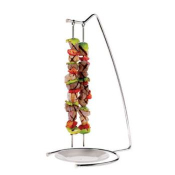 WOR4241722 - World Cuisine - 42417-22 - 4-Skewer Stainless Steel Stand Set Product Image