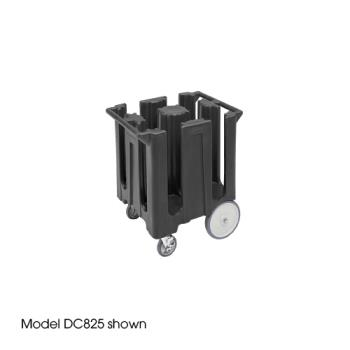 CAMDC1225110 - Cambro - DC1225 - 12 1/4 in Plate Black Poker Chip Dish Caddy Product Image