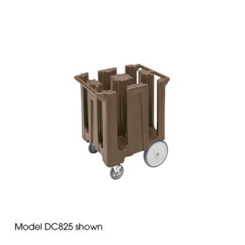 CAMDC1225131 - Cambro - DC1225 - 12 1/4 in Plate Brown Poker Chip Dish Caddy Product Image