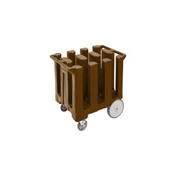 CAMDC575131 - Cambro - DC575 - 5 3/4 in Plate Brown Poker Chip Dish Caddy Product Image