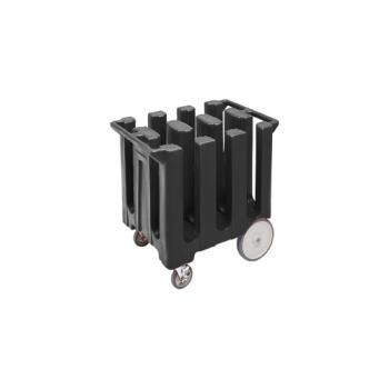 CAMDC700110 - Cambro - DC700 - 7 in Plate Black Poker Chip Dish Caddy Product Image