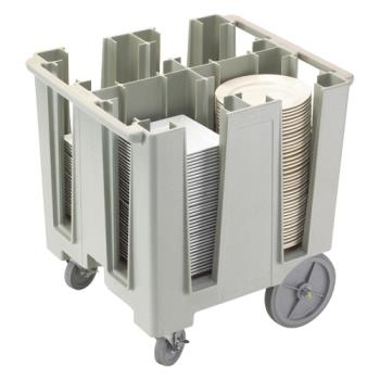 CAMDCS1125480 - Cambro - DCS1125480 - Versa Gray 4-Column Dish Caddy Product Image