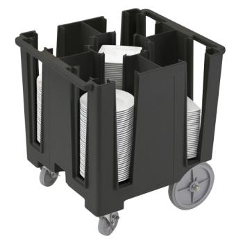 CAMDCS950110 - Cambro - DCS950 - Versa Black 5-Column Dish Caddy Product Image