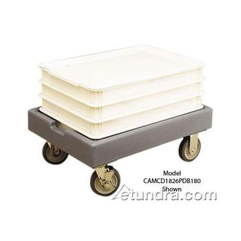 CAMCD1826PDB131 - Cambro - CD1826PDB - Camdolly 18 in X 26 in Brown Dough Box Dolly Product Image