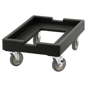 75891 - Cambro - CD1826PDB110 - Camdolly 18 in X 26 in Black Dough Box Dolly Product Image