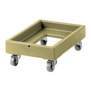 CAMCD1826PDB157 - Cambro - CD1826PDB157 - Camdolly® 18 in X 26 in Beige Dough Box Dolly Product Image