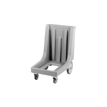 CAMCD100HB180 - Cambro - CD100HB - Camdolly 17 in X 26 in Gray Big Wheel Dolly Product Image