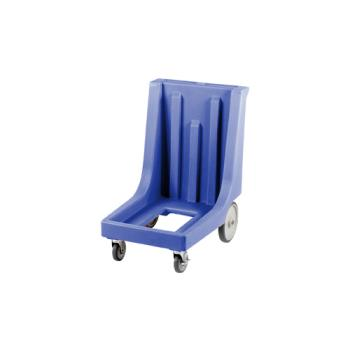 CAMCD100HB401 - Cambro - CD100HB401 - Camdolly 17 in X 26 in Blue Big Wheel Dolly Product Image