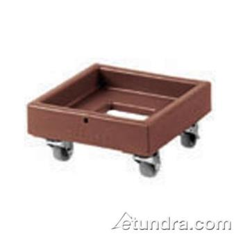 CAMCD1313131 - Cambro - CD1313131 - Camdolly® 13 in X 13 in Brown Milk Crate Dolly Product Image