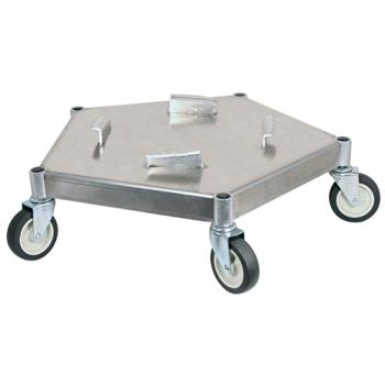 BARDOL100 - Bar Maid - DOL-100 - Heavy Duty Keg/Trash Can Dolly Product Image