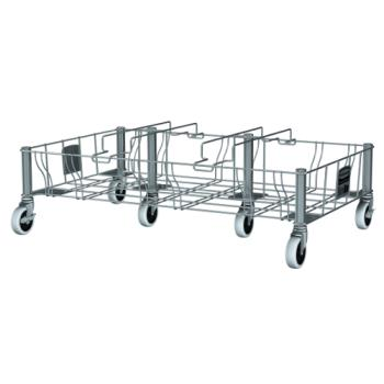 12897 - Rubbermaid - 1956192 - 3 Compartment Slim Jim® Dolly Product Image