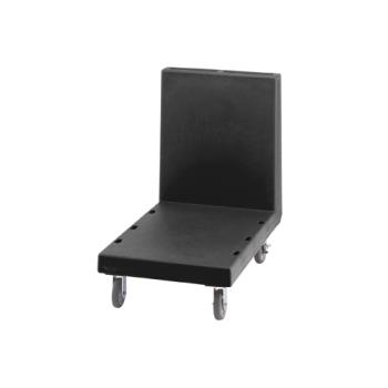 CAM2436UTH110 - Cambro - 2436UTH - 24 in X 36 in Black Utility Truck Product Image