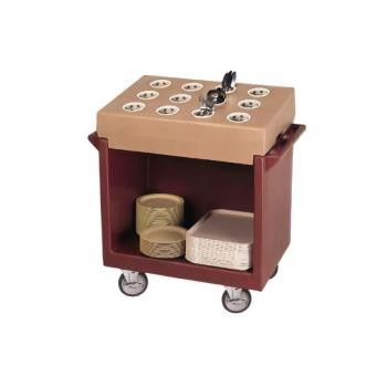 CAMTDC2029131 - Cambro - TDC2029131 - 38 in X 22 in Brown Dish Cart Product Image