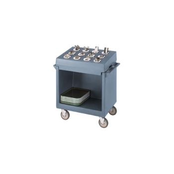 CAMTDCR12401 - Cambro - TDCR12 - 38 in X 23 in Blue Tray and Dish Cart  Product Image
