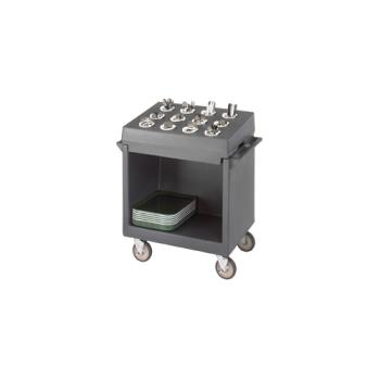 CAMTDCR12180 - Cambro - TDCR12 - 38 in X 23 in Gray Tray and Dish Cart  Product Image