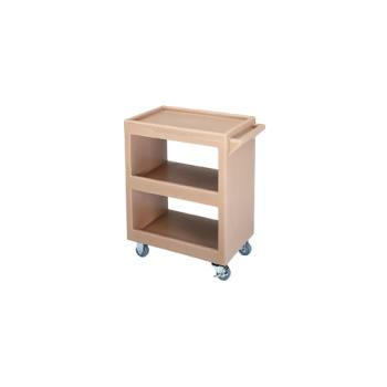 CAMBC225157 - Cambro - BC225 - 28 in X 16 in Beige Service Cart  Product Image