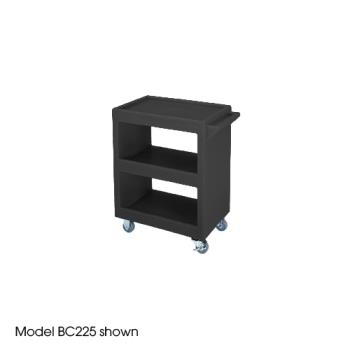 CAMBC2254S110 - Cambro - BC2254S - 28 in X 16 in Black Service Cart   Product Image