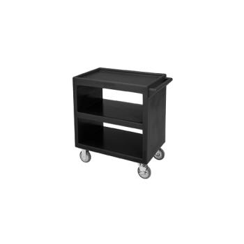 CAMBC230110 - Cambro - BC230 - 33 1/4 in X 20 in Black Service Cart  Product Image
