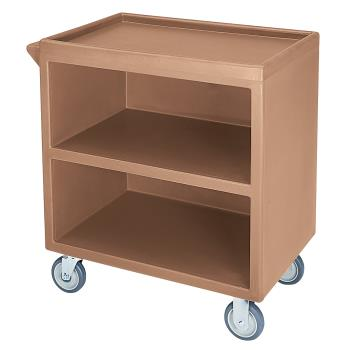 CAMBC3304S157 - Cambro - BC3304S157 - 33 1/8 in X 20 in 3-Tier Beige Service Cart Product Image