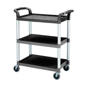 75310 - Cambro - BC331KD110 - 32 7/8 in X 16 1/4 in Black Service Cart Product Image