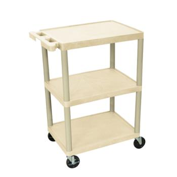 LUXHE34P - Luxor - HE-34-P - 24 in x 18 in Putty Utility Cart Product Image