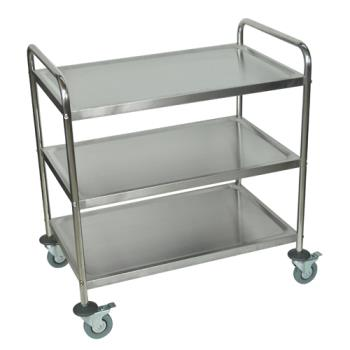 LUXST3 - Luxor - ST-3 - 33 1/2 in x 21 in Stainless Steel Utility Cart Product Image