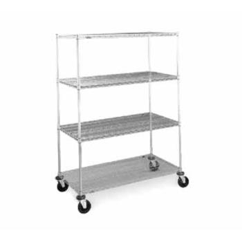 IMEN466BC - Metro/Intermetro - N466BC - 60 in x 21 in Chrome Wire Cart Product Image