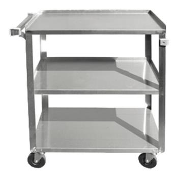 UPDBC2415SS - Update  - BC-2415SS - 27 in x 16 1/4 in Stainless Steel Utility Cart Product Image