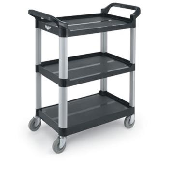 86316 - Vollrath - 97006 - 33 in x 16 13/16 in Black Utility Cart Product Image