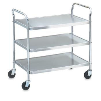 VOL97105 - Vollrath - 97105 - 24 in x 16 in 3-Tier Stainless Steel Utility Cart Product Image