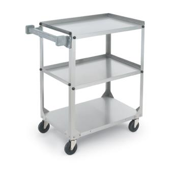 VOL97125 - Vollrath - 97125 - 27 1/2 in x 15 1/2 in Stainless Steel Utility Cart Product Image