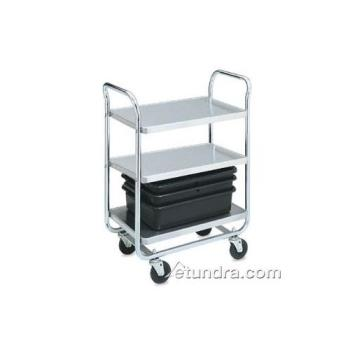 VOL97166 - Vollrath - 97166 - 28 in x 16 in Stainless Steel Utility Cart Product Image