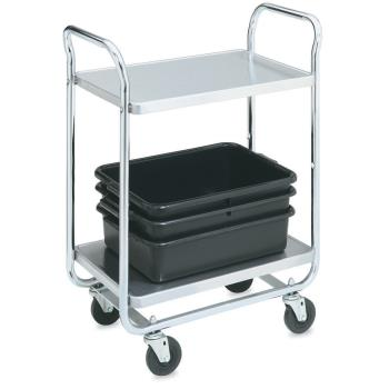 VOL97167 - Vollrath - 97167 - 40 1/2 in x 21 in 3-Tier Stainless Steel Utility Cart Product Image
