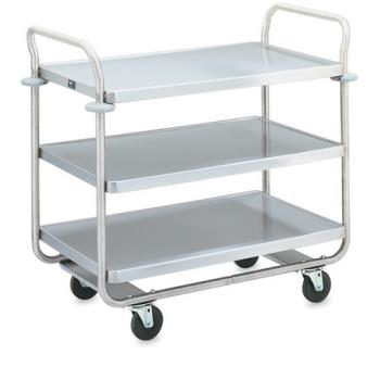 VOL97168 - Vollrath - 97168 - 27 1/2 in x 15 1/2 in Black Service Cart Product Image
