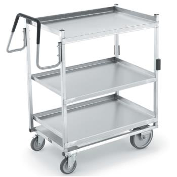 VOL97206 - Vollrath - 97206 - 20 in x 35 in 3-Tier Stainless Steel Utility Cart Product Image