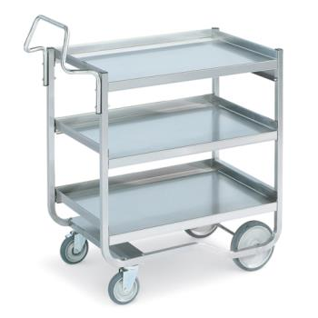 VOL97211 - Vollrath - 97211 - 20 in x 30 in Stainless Steel Utility Cart Product Image