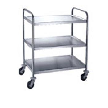 WINSUC30 - Winco - SUC-30 - 30 in x 16 in Stainless Steel Utility Cart Product Image