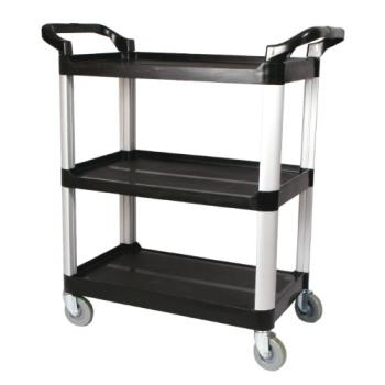 WINUC35K - Winco - UC-35K - 33 1/4 in x 17 in Black Utility Cart Product Image
