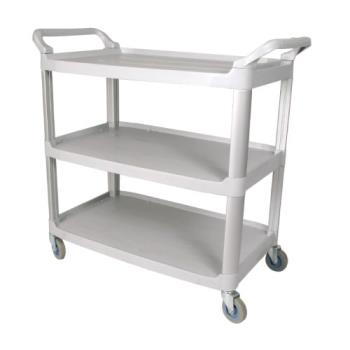WINUC40G - Winco - UC-40G - 40 in x 19 3/4 in Gray Utility Cart Product Image