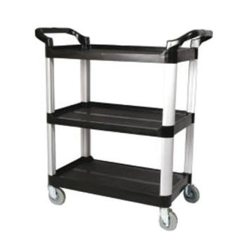 76511 - Winco - UC-40K - 40 in x 19 3/4 in Black Utility Cart Product Image