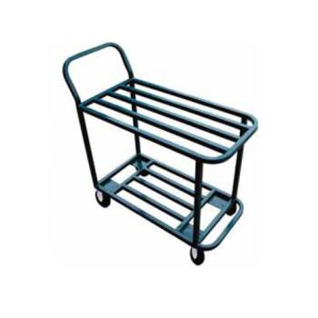 WNH110 - Winholt - 110 - 40 in x 18 in 2-Tier Steel Stocking Cart Product Image
